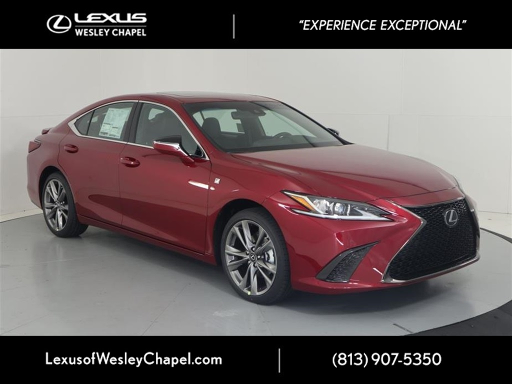 New 2020 Lexus Es 350 350 F Sport 4d Sedan In Wesley Chapel L064525 Lexus Of Wesley Chapel