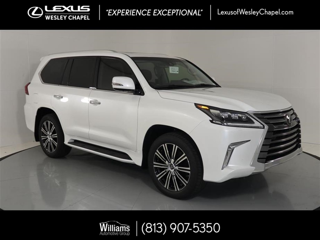 New 2019 Lexus Lx 570 Three Row 570 4d Sport Utility In Wesley