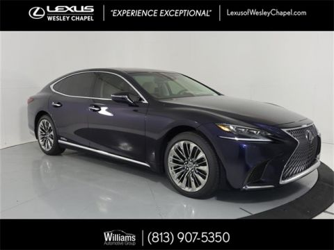 New 2019 Lexus LS 500h 500h Base
