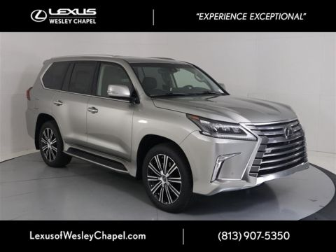 New 2020 Lexus LX 570 THREE-ROW 570