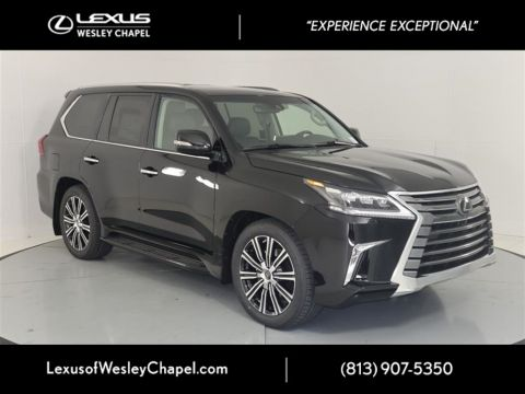 New 2020 Lexus LX 570 TWO-ROW 570